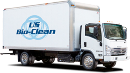 picture of a US Bio-Clean truck